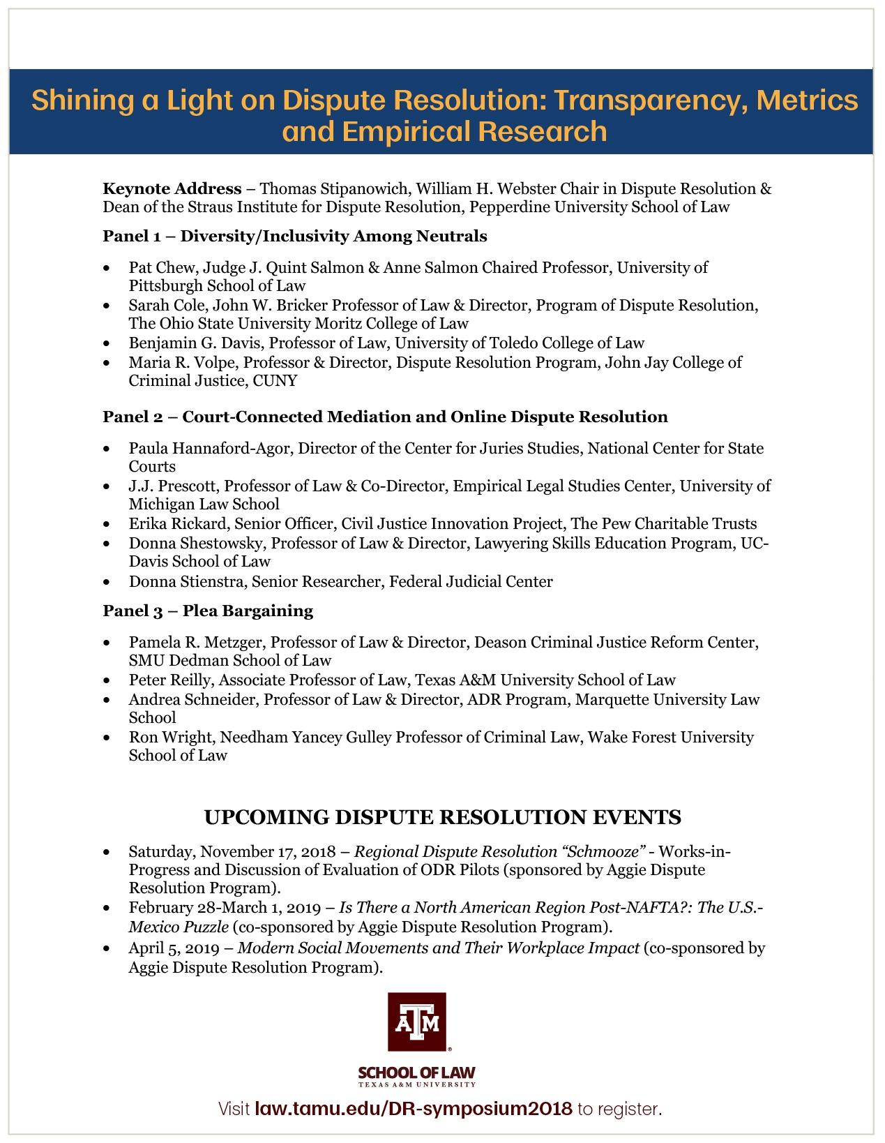 DR Symposium November 16 BACK