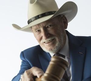 Judge Joe Spurlock cowboy hat
