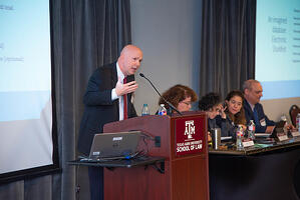 Peter Reilly speaking