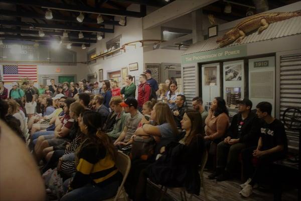 Rio Grande trip audience