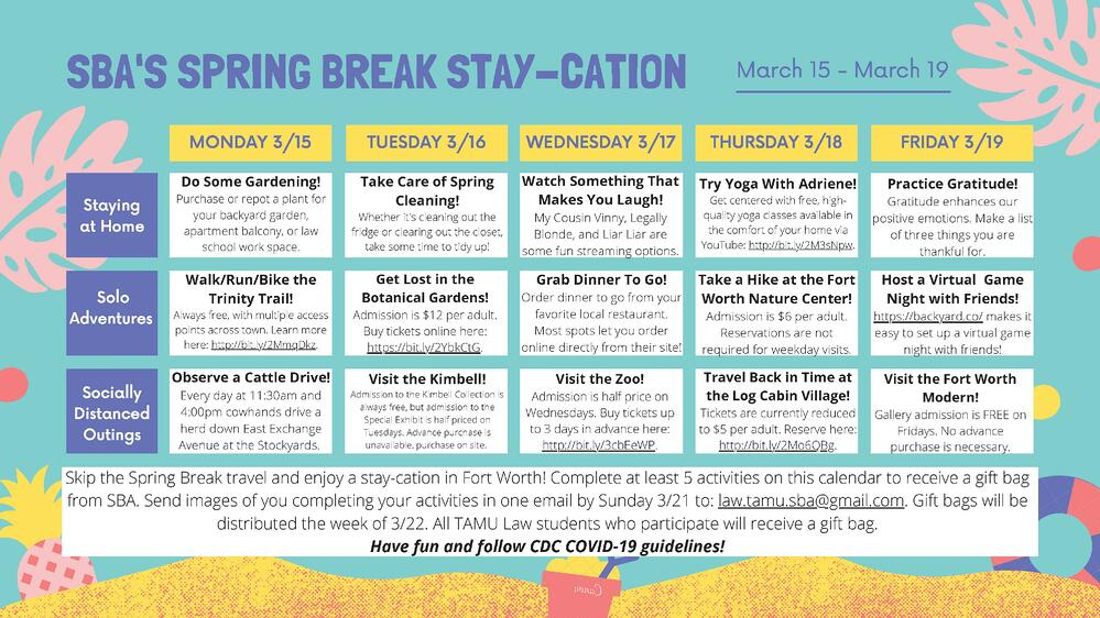 Spring Break Stay-Cation 2021-1