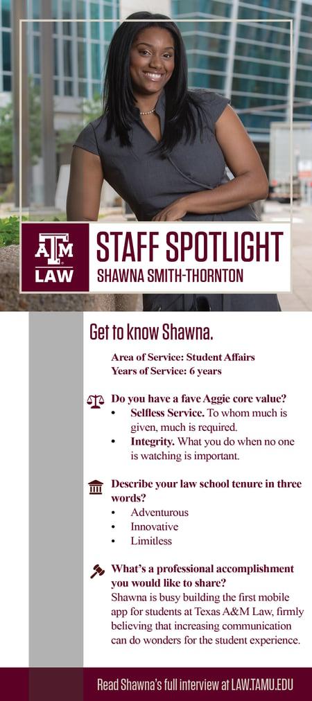 Staff Spotlight Shawna
