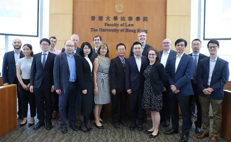 Peter Yu at Faculty of Law, Univ. of Hong Kong